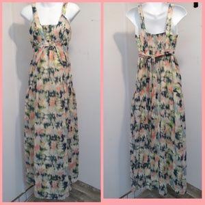 NWOT Jessica Simpson M maternity long maxi dress